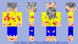 guy stranded on an island 2 Minecraft Skin