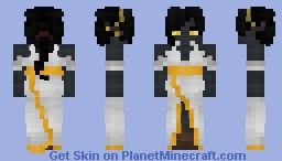 Dark Elf Maiden [Request Gift] Minecraft Skin