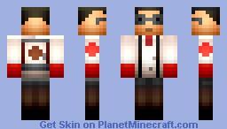 Medic from TF2 (TF2 Skin Series) Minecraft Skin