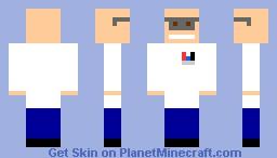nerd skin Minecraft Skin