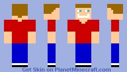 normal person Minecraft Skin