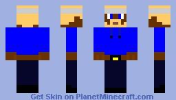 Famous Man Minecraft Skin