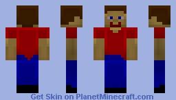 Better Steve Minecraft Skin