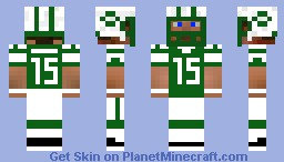 Tim Tebow #15 NY Jets (READ DESC.) Minecraft Skin