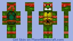 Raphael Tmnt Minecraft