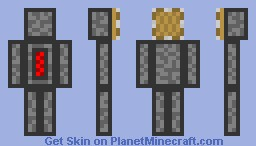 Piston Head Dave Minecraft Skin