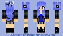 ღ Neneki ღ My First Skin - Remade! (Just hit 100 views. Thanks!) Minecraft Skin
