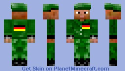 German Special Forces Minecraft Skin