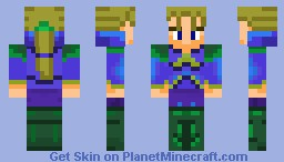 Edgar Figaro (final fantasy) Minecraft Skin