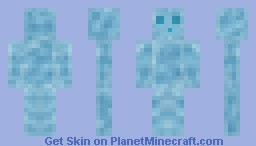 Ice Slime Minecraft Skin