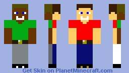 Double Skin Minecraft Skin