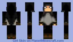 (Bear Skin Hood)  Poor Old Traveler Minecraft Skin