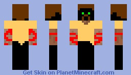 A guy or a wolf thing Minecraft Skin