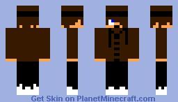 Male Skin Brown Minecraft Skin