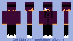 Male skin purple