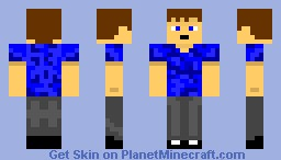 Minecraft Kid Minecraft Skin