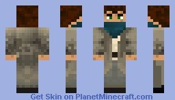 mysterious man by Rat01 Minecraft Skin