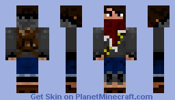 [Survival] Wasteland Survivor Minecraft Skin
