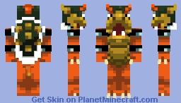 Bowser (Super Mario 64) Minecraft Skin