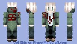 ~ Nagito Komaeda ~ | Danganronpa Minecraft Skin