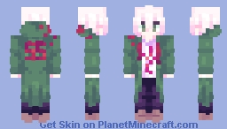 nagito komaeda [danganronpa 2 goodbye despair] Minecraft Skin