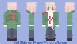 nagito komaeda - sdrv2 Minecraft Skin