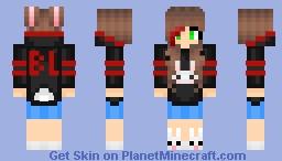 Naiara Black Lux 2021 Minecraft Skin