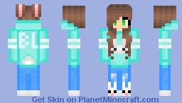Naiara Black Lux 2020 Minecraft Skin