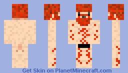 Naked Honeydew Minecraft Skin