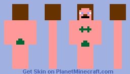 Naked Woman Minecraft Skin