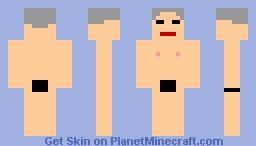naked guy Minecraft Skin
