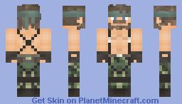 Naked Snake (Metal gear solid 3: Snake eater) Minecraft Skin