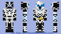 Kamen Rider Naki 仮面ライダー亡 Minecraft Skin