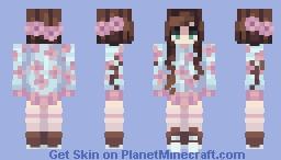 Spring Blossoms - NameMC Remake // Part 2 Minecraft Skin