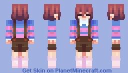 Stream | NameMC remake - Frisk Minecraft Skin