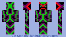 Nano Suit v1.1 Minecraft Skin