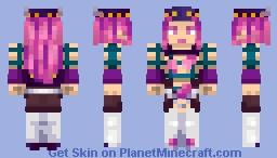Narciso Anasui (Jojo par 6: Stone Ocean) Minecraft Skin