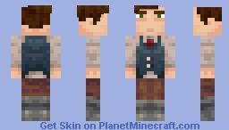 The Narrator Minecraft Skin