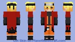 Naruto Shippūden - Naruto Uzumaki sage mode 2nd version Minecraft Skin