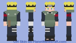 Naruto Uzumaki [Jonin-sensei] [The Last] [What if...?] Minecraft Skin