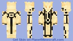 Naruto Uzumaki (Kurama Mode) (1.8) Minecraft Skin