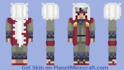 Naruto - Jiraiya Minecraft Skin