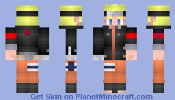 Naruto Uzumaki (うずまきナルト): The Last Minecraft Skin