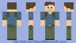 Nathan Drake (Gift from my brother) Minecraft Skin