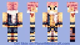 Natsu Minecraft Skin