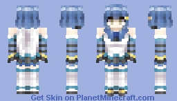 Natsumi Moe | V-Tuber | Early Request Minecraft Skin