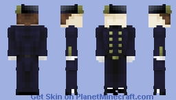 ERW: US & CS Navy Uniforms (Part 3 hat variation) Minecraft Skin
