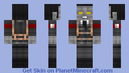 Minecraft Nazi Zombie   50 Subscriber Special Minecraft Skin