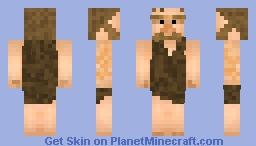 Neanderthal 2 Minecraft Skin