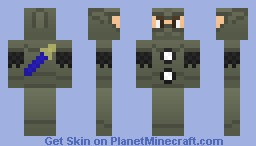 Necro Armor w/ Muramasa (better in previewer) Minecraft Skin